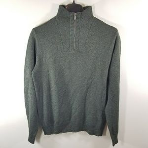 NWT Calvin Klein Jeans 1/4 Zip Up Sweater